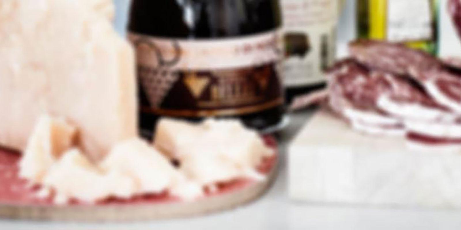Parmesan, Salami, Olja och Vinäger